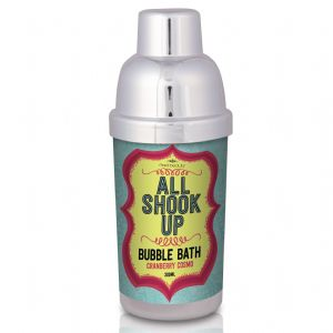 All Shook Up - Cocktail Shaker Bubble Bath 300ml - Mad Beauty